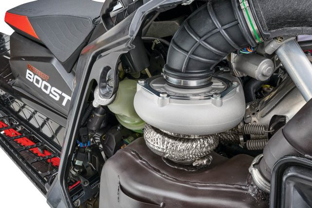 Polaris Patriot Boost! Factory 2-Stroke Turbo Engine