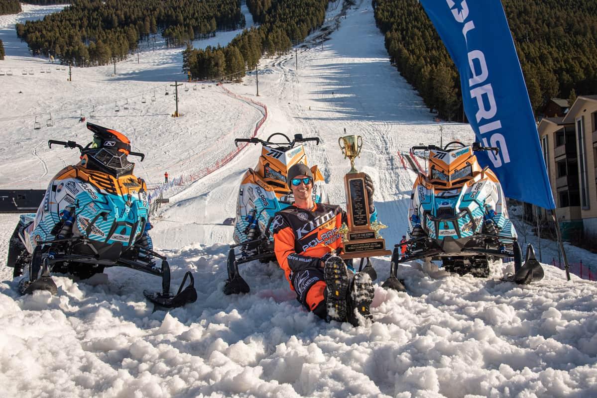 Polaris Hillclimbers Dominate Jackson Hole