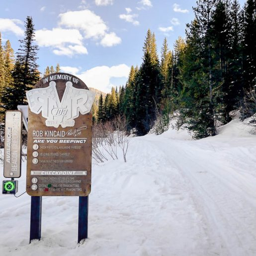 Beacon Checkpoints in Memory of RMR Installed at Idaho Trailheads