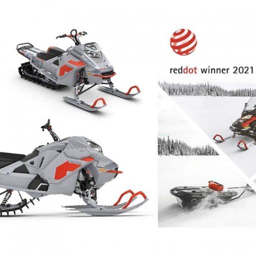 """BRP Wins """"Best of the Best"""" Red Dot Design Award for Ski-Doo Freeride"""