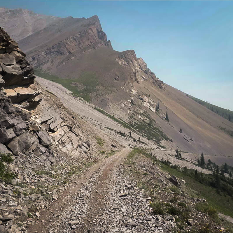 Racehorse Pass Trail Decommissioned