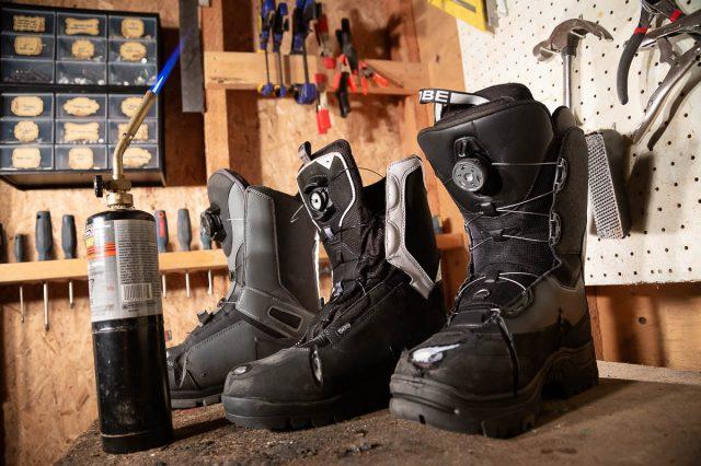 Snowmobile Boot Durability Test