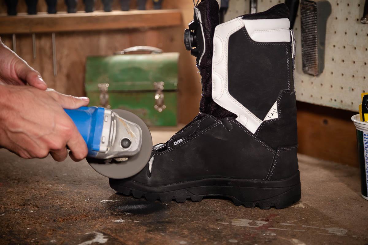 Snowmobile Boot Durability Test_