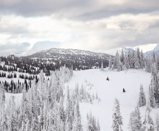 The Right Personality for Mountain Sledding